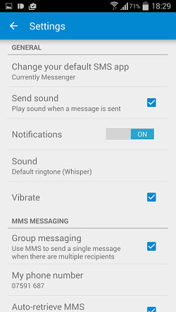 Messenger for Android