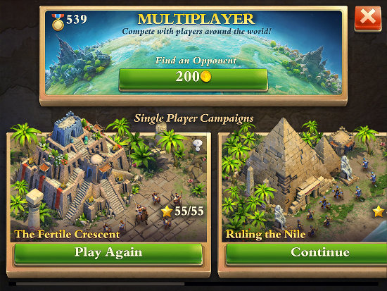 Dominations for iPad