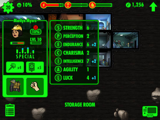 Fallout Shelter for iPhone and iPad