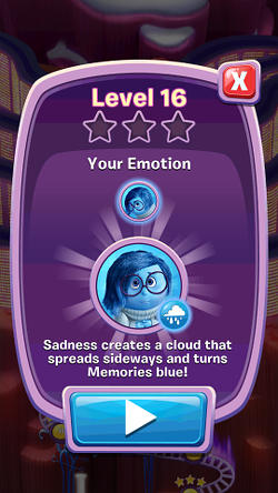 Disney Pixar Inside Out Thought Bubbles app for Android