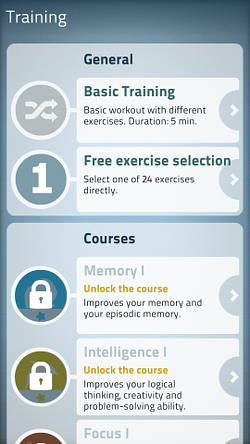 NeuroNation brain training for Android