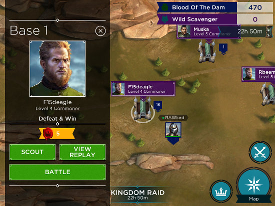 Rival Kingdoms for iPad