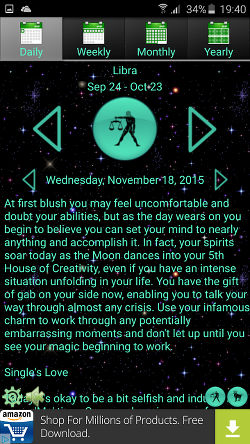 Astro Horoscope app