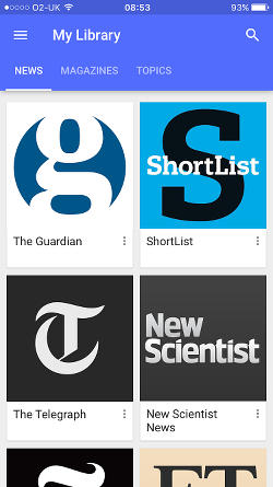 Google Play Newsstand