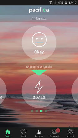 Pacifica Android app for anxiety