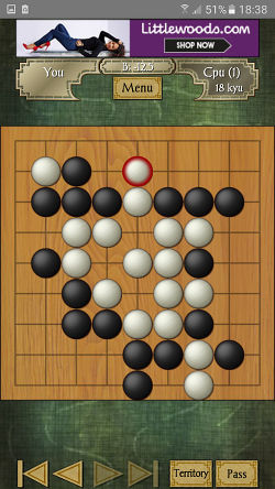 Game of Go app for Android