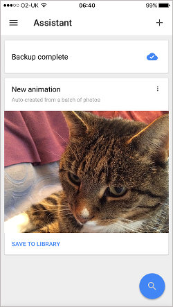 Google Photos for iOS