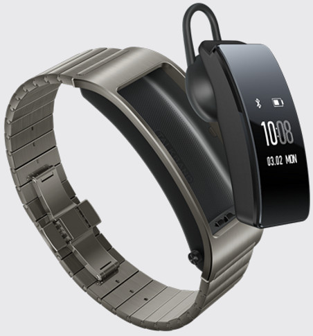 The Huawei TalkBand B3 is a smartwatch that pops out to become a Bluetooth headset