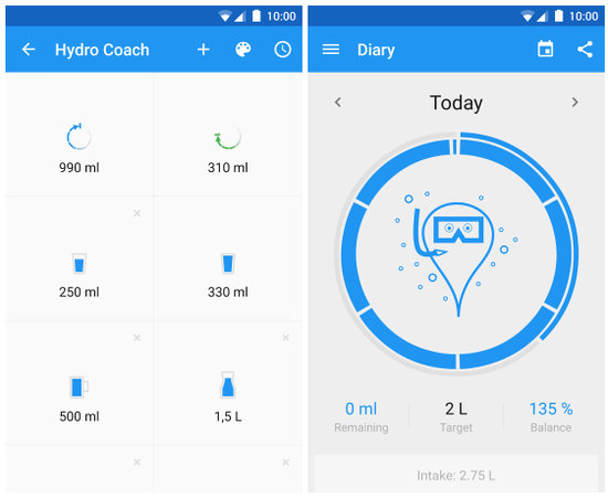 Hydro Coach for Android