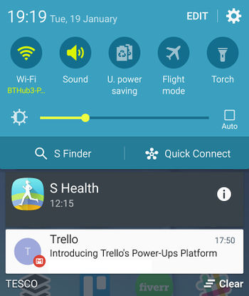 Customise Android notifications