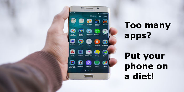 Do you have too many apps on your phone? Some of them may bot be necessary.