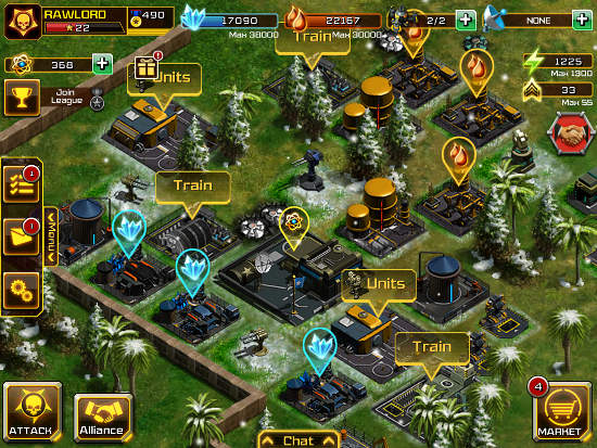 War Inc. MMO app for iOS