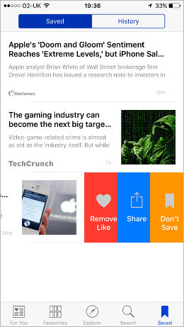 Apple News app for iPhone and iPad