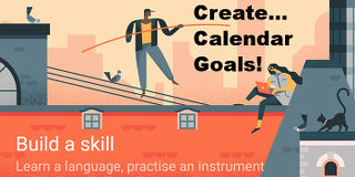 Create goals in Google Calendar for Android