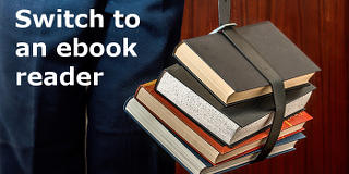 Don't carry around stacks of books, get an ebook reader and cut down on the effort - rawinfopages.com