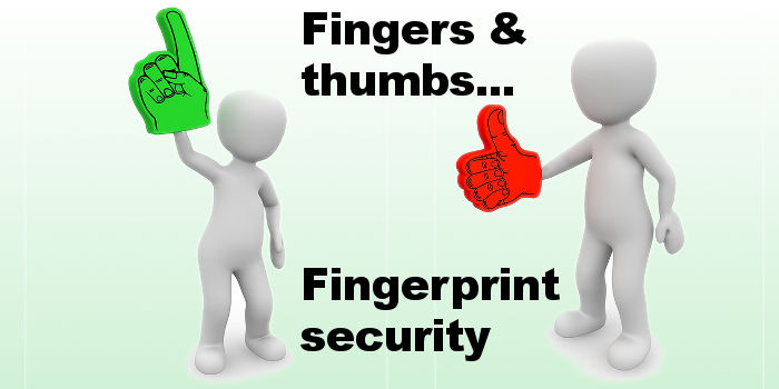 Fingers or thumbs will do when securing Notes on your iPhone with a fingerprint