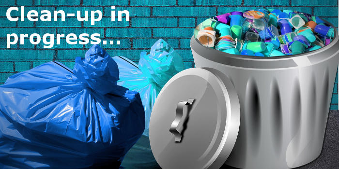 Clear out the trash and keep it clean, you know it makes sense! www.rawinfopages.com