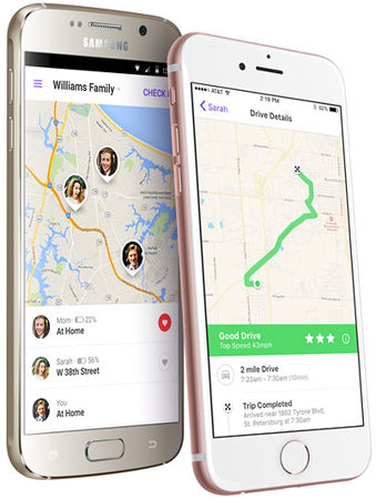 Life 360 child safety app for mobile