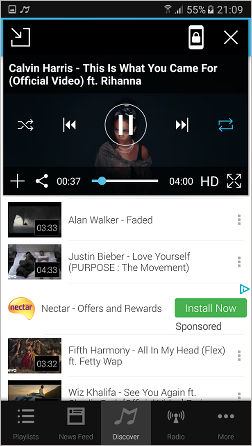 Mixerbox music app for Android
