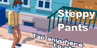 Steppy Pants is a great game for the iPhone and iPad. Walk down the street, but don't step on a crack or you'll fall and break your back!