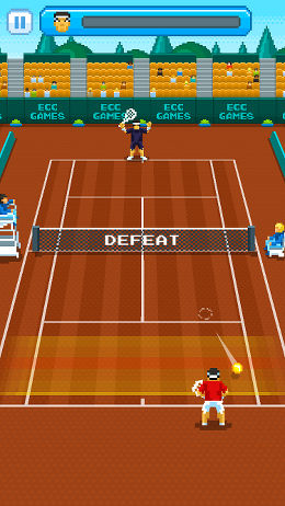 Play tennis tournaments on your iPhone or iPad