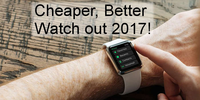 Is 2017 the year in which smartwatches really take off? New developments are under way to tempt you