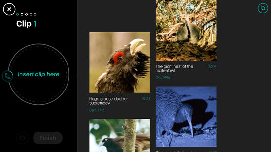 Attenborough Story of Life app for the iPhone