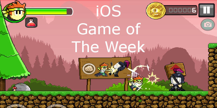 Three games for you to play on your iPhone and iPad. Dan The Man is the Game of the Week! | rawinfopages.com