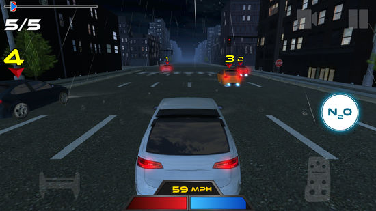 Drive for Speed Android car racing game