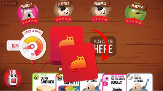 Exploding Kittens for Android
