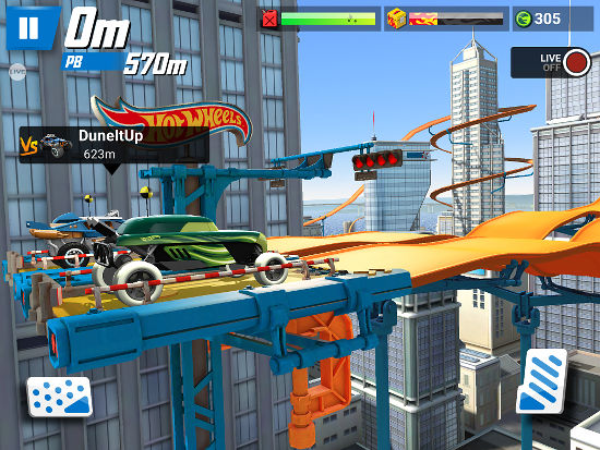 Hot Wheels: Race Off app for the iPhone and iPad
