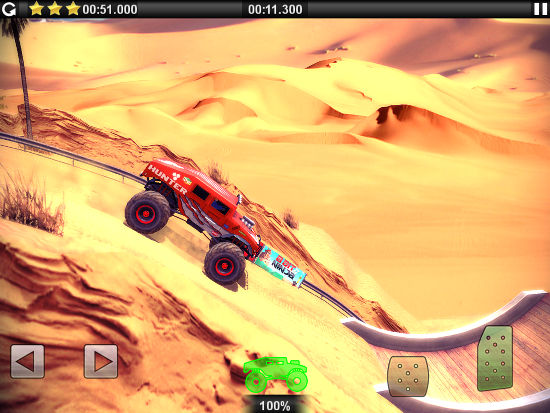 Offroad Legends Sahara for the iPhone and iPad