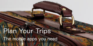 Get the best apps for your phone for planning trips, journeys and holidays