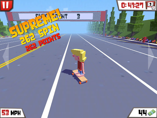 Star Sk8r, a free game for the iPhone and iPad