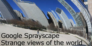 Google Sprayscape is a fascinating way to create VR-like 360 degree images with your Android phone
