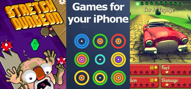 3 great games for the iPhone and iPad that you probably haven't heard of before. Check them out | rawinfopages.com