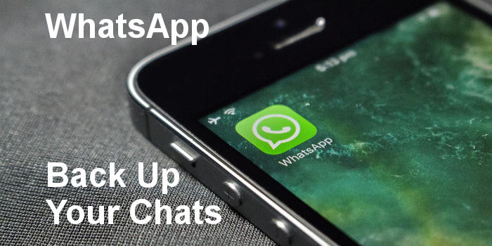 Back up your WhatsApp chats and media files and protect them from loss and disaster