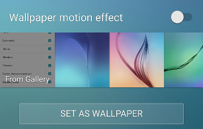 Set a static wallpaper on your Android phone to increase battery life