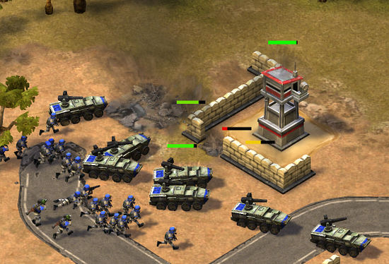 Empires & Allies war game for the iPad and iPhone