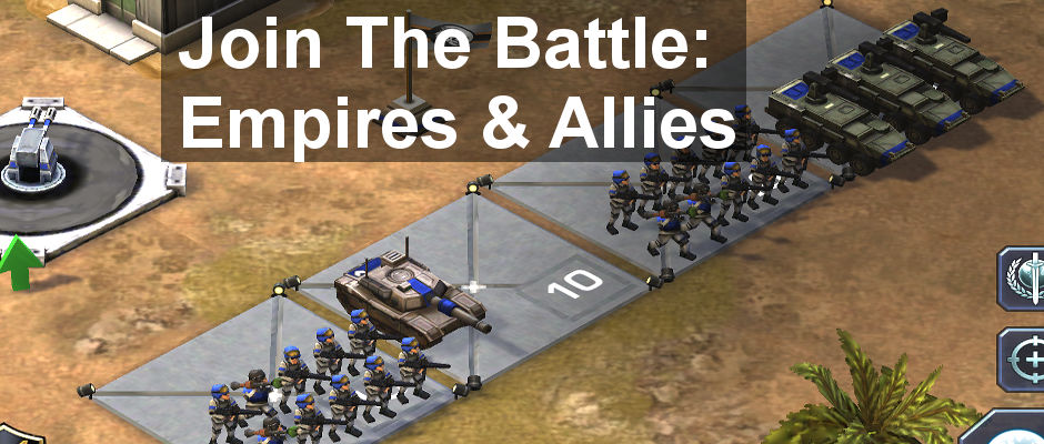 Review: Empires & Allies for the iPhone and iPad is a pretty near perfect strategy war game that will have you hooked from the start. Build your base and army and enter the battle.