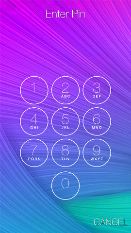 Keypad Lock Screen app for Android phones