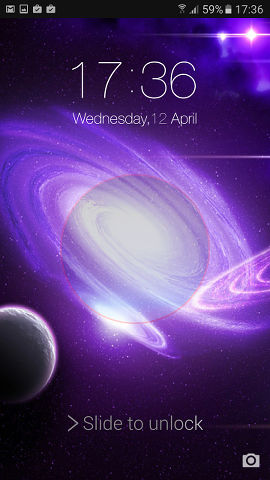 Lock Screen OS10 is an Android lock screen replacement