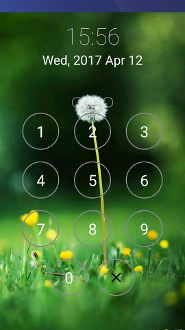 Lock Screen replaces the lock screen on Android phones