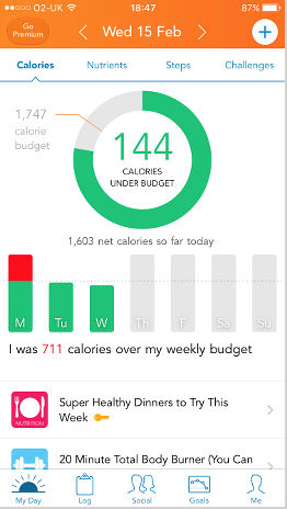 Lose It! weight and diet tracking app for the iPhone