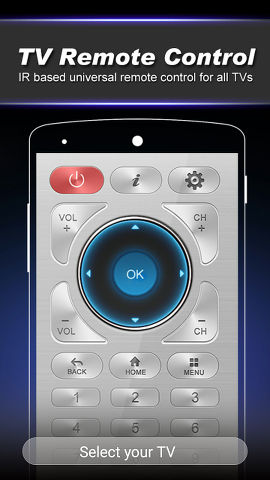 Remote Control for TV app for Android