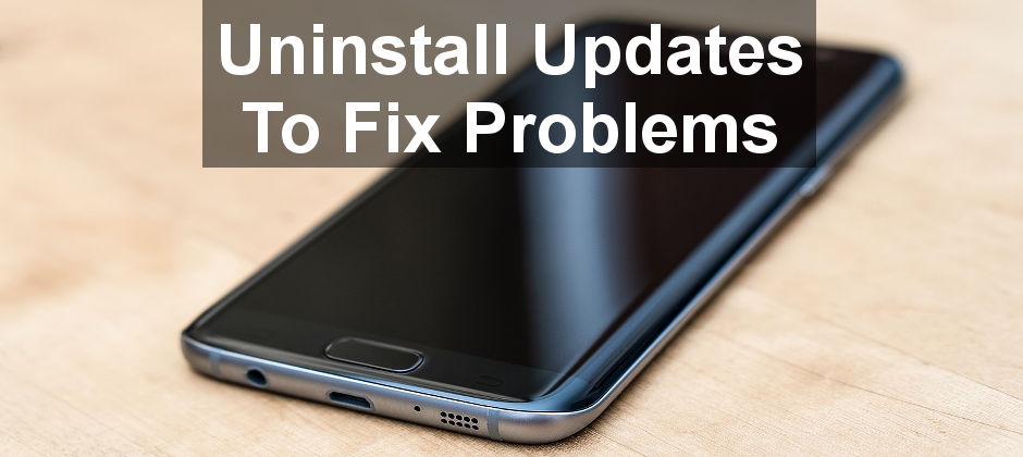 Problems with apps can be solved by uninstalling and reinstalling. Built in apps you can't uninstall can still be fixed. Here's how to do it