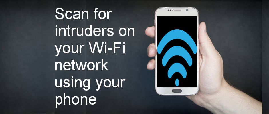 Discover who is using your wireless network using an Android app on your phone. Scan for intruders!