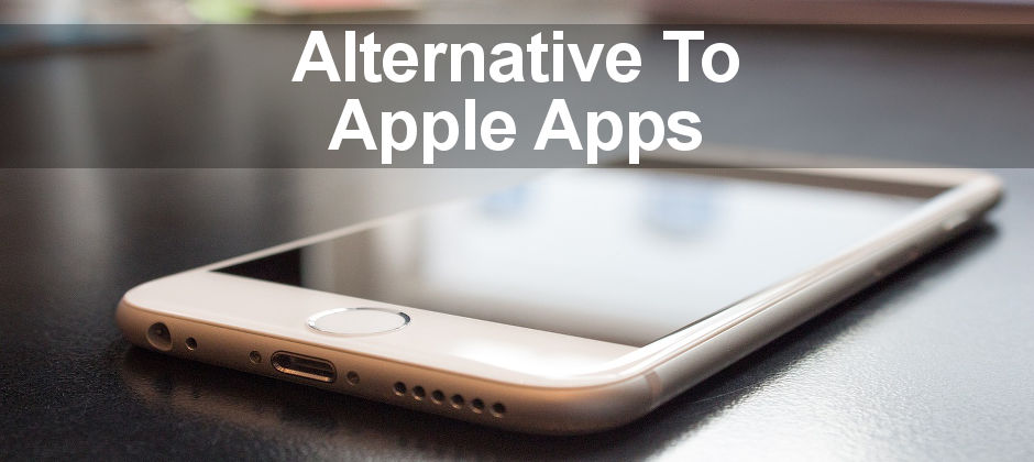 Apple's apps on the iPhone and iPad are good, but there are many alternatives to choose from. Here are some of them.