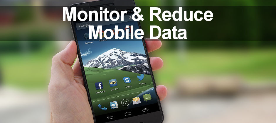 How to monitor and reduce mobile data usage on Android phones with these five apps.
