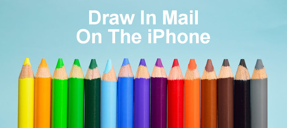 Create drawings on the iPhone and insert them into email messages. Use it to create fun emails.